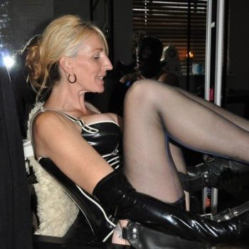 Leg Worship Leather Boots London Dominatrix
