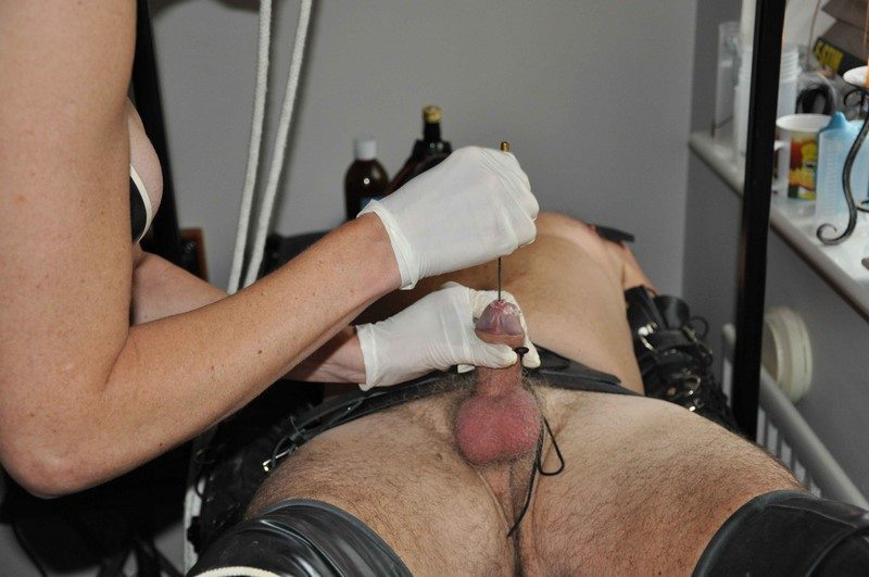 Medical fetish sex play