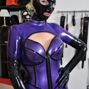 Mistress In London Latex Rubber Catsuit