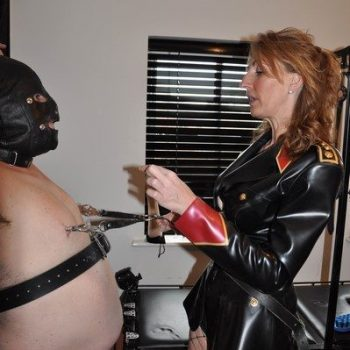 Nipple Torture CFNM Mistress In London